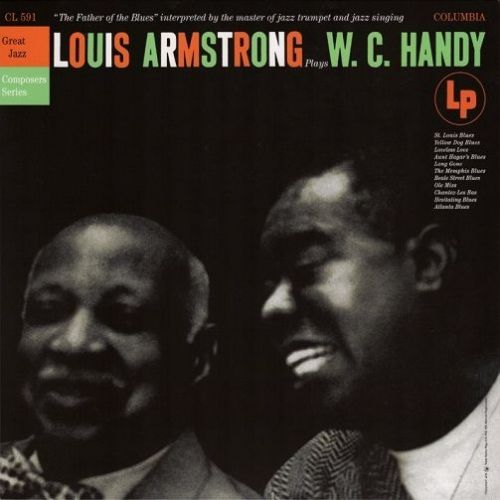 LOUIS ARMSTRONG Louis Armstrong Plays W. C. Handy Vinyl Record LP Columbia 2017